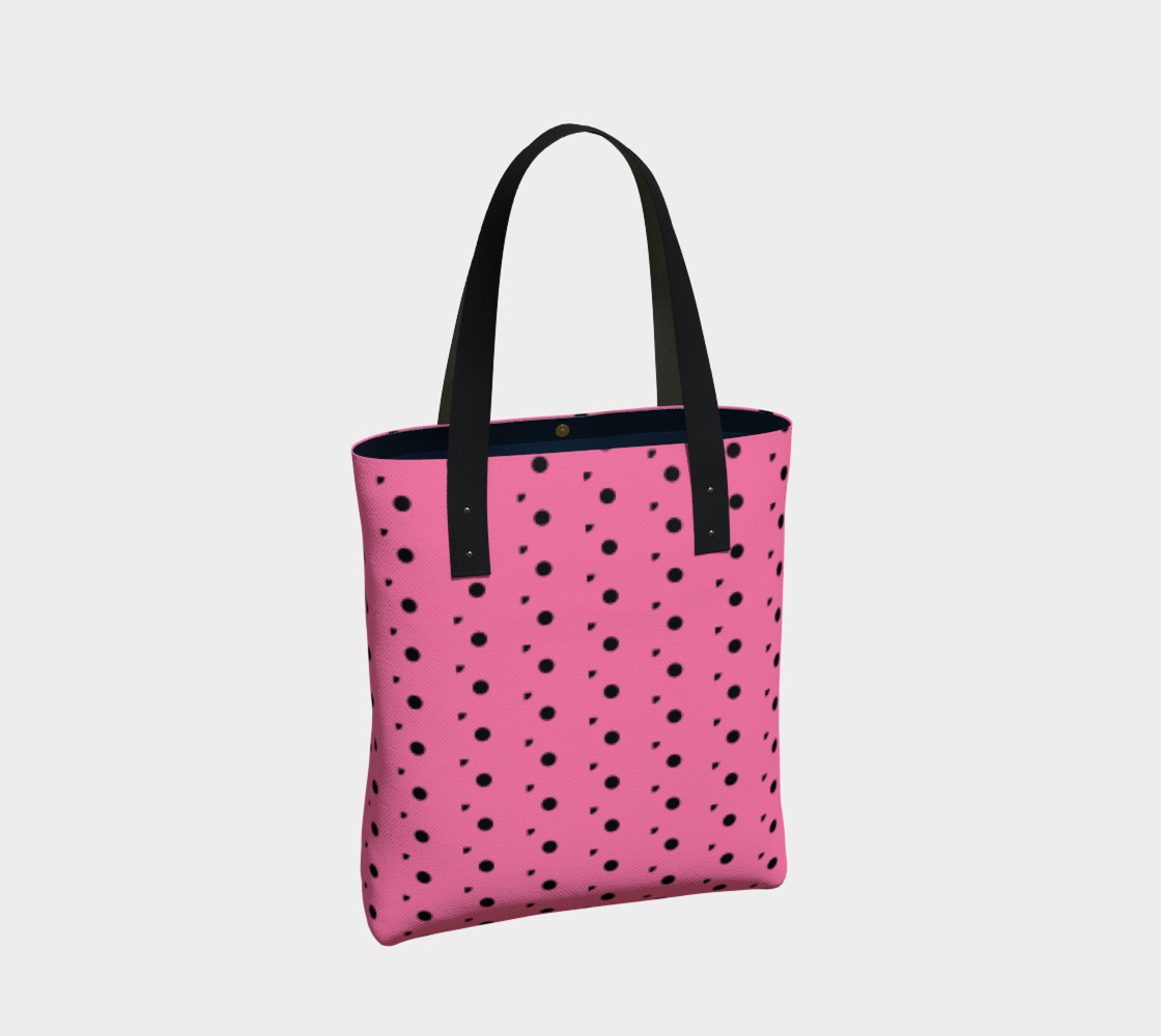 Aperçu de Tracks Bubble Gum Tote Bag #2