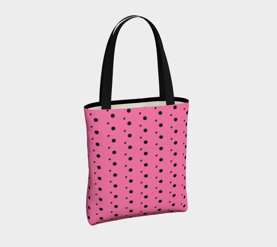 Aperçu de Tracks Bubble Gum Tote Bag #4