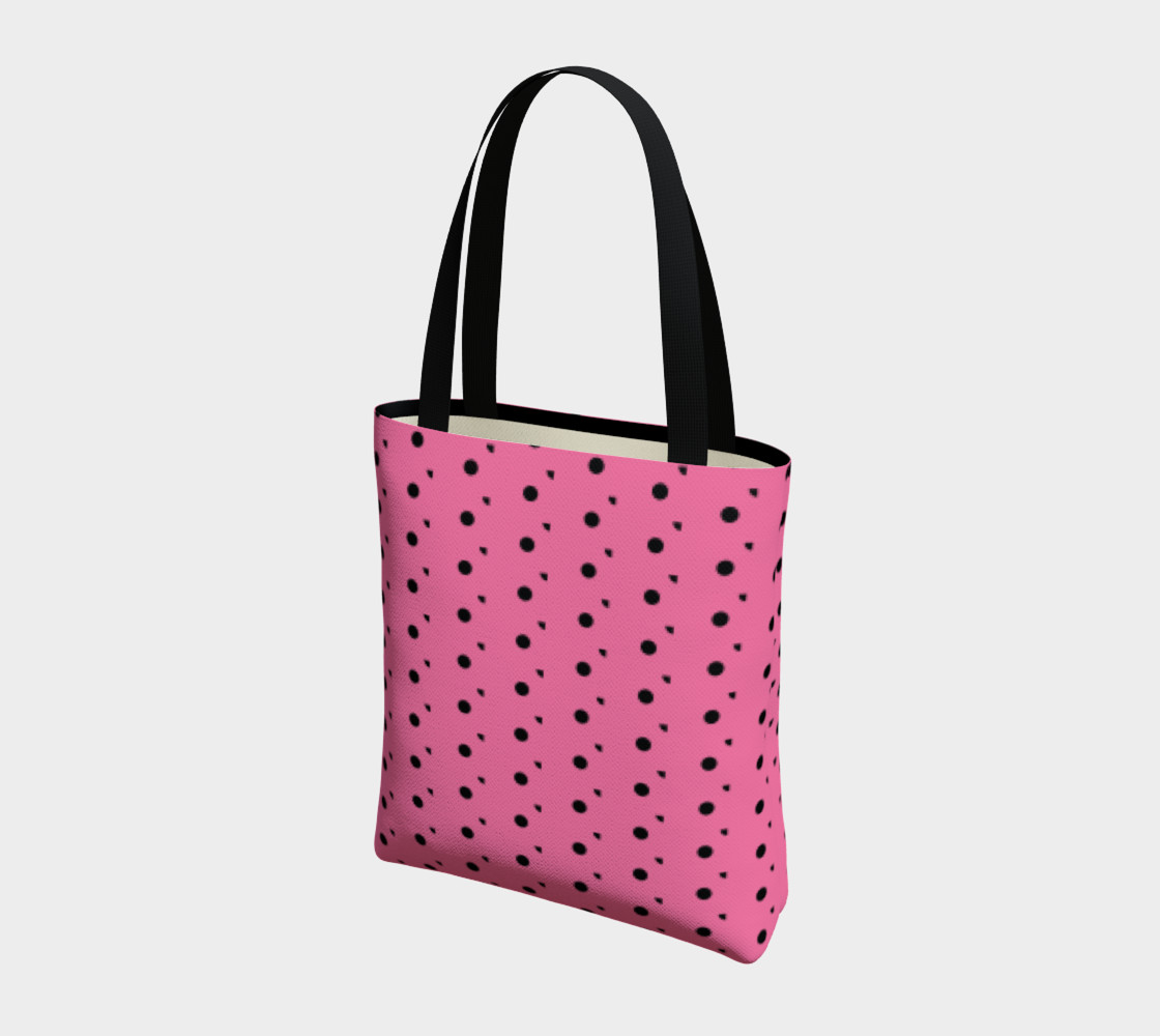 Aperçu de Tracks Bubble Gum Tote Bag #3
