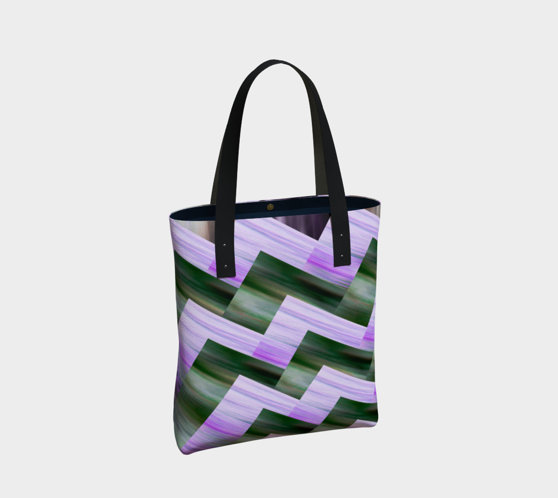 Green and violet zigzag preview #2