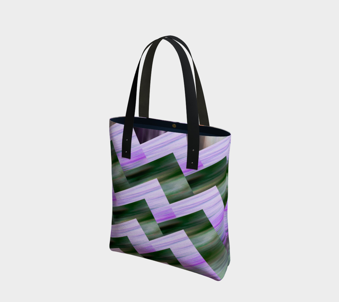 Green and violet zigzag preview #1