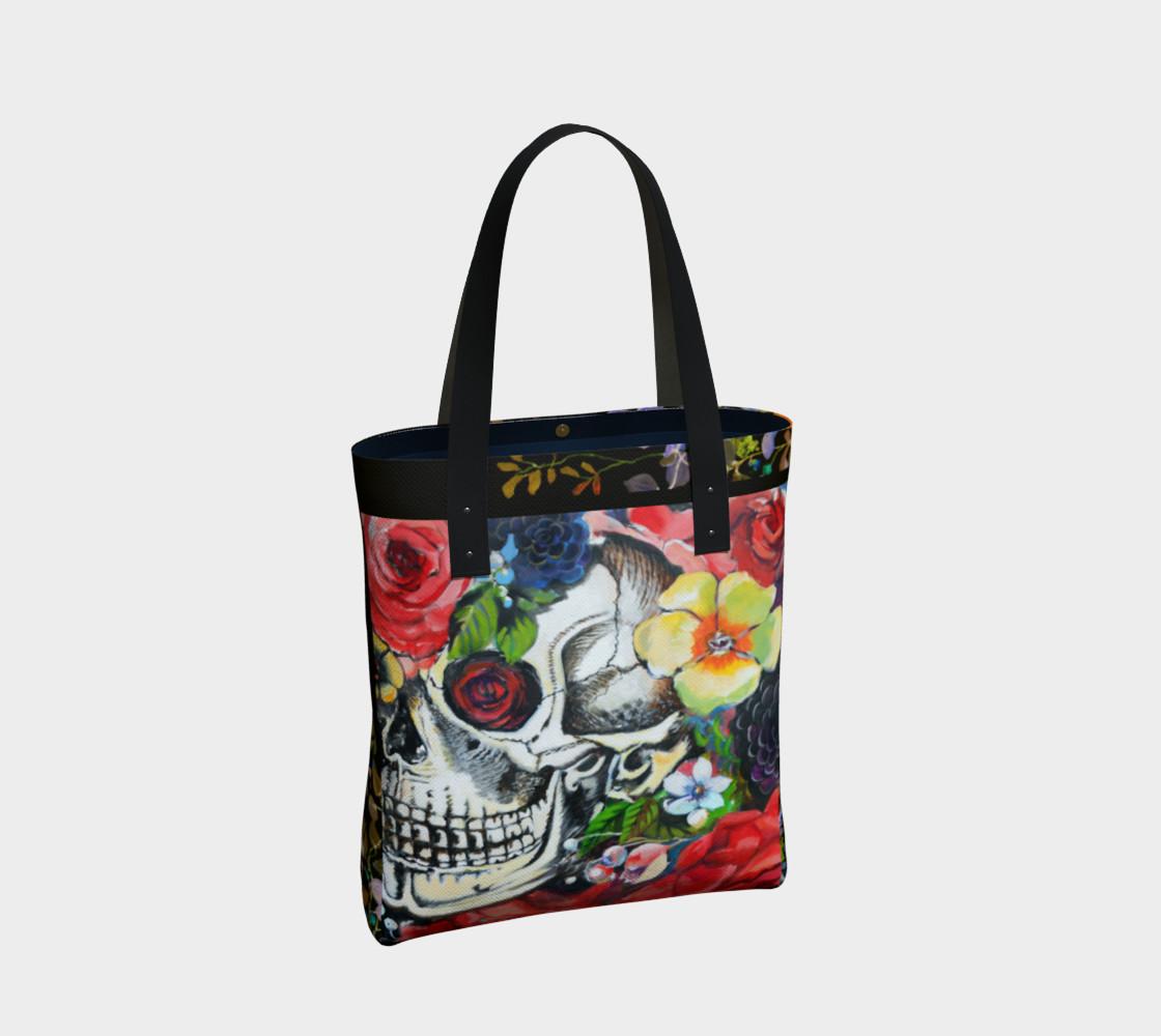 Aperçu de Memento Skull Tote Bag #2