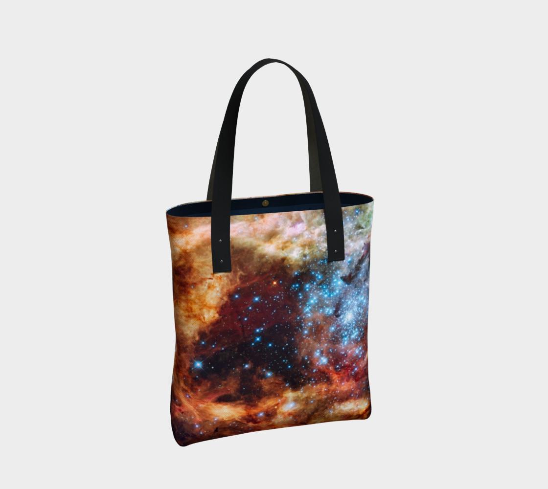 Grand Star Forming (Tarantula Nebula) Tote Bag preview #2
