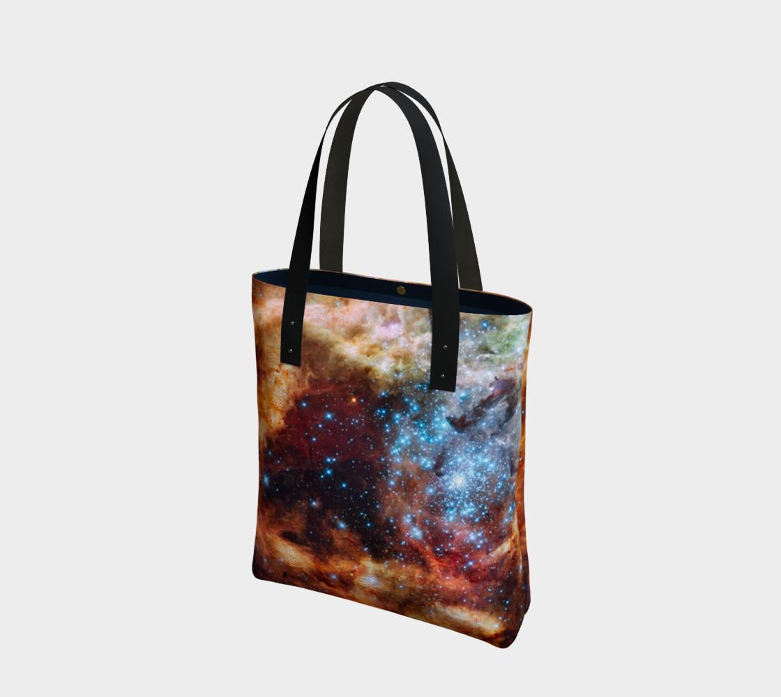 Grand Star Forming (Tarantula Nebula) Tote Bag preview #1