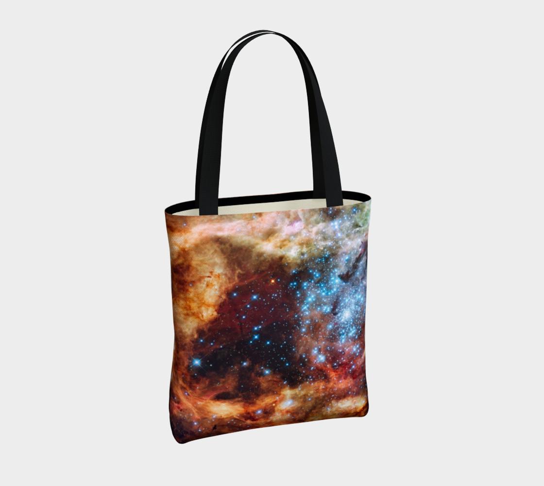 Grand Star Forming (Tarantula Nebula) Tote Bag preview #4