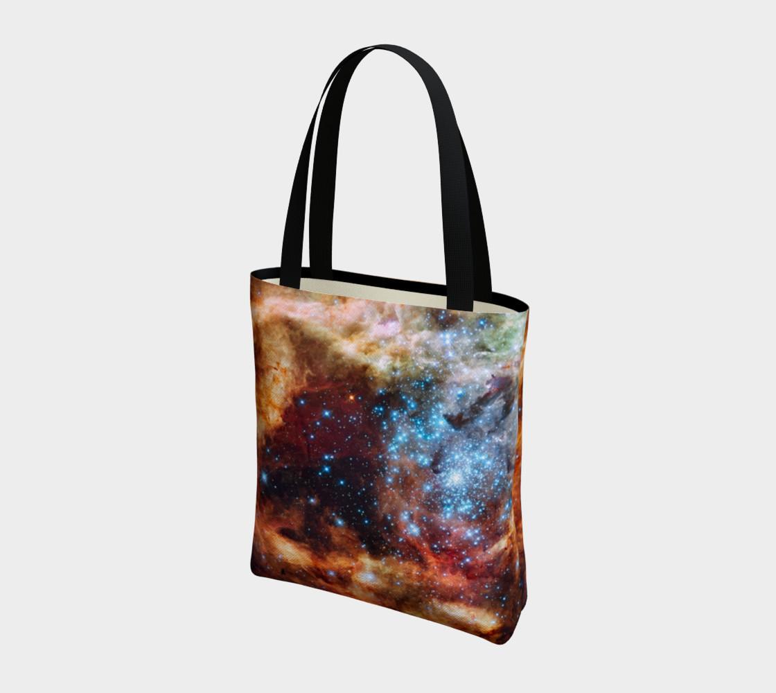 Grand Star Forming (Tarantula Nebula) Tote Bag preview #3