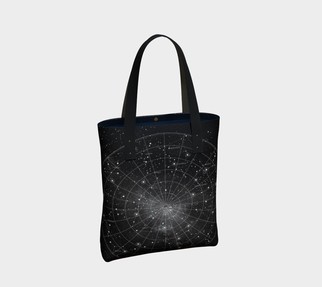 Constellation Star Chart Tote Bag thumbnail #3