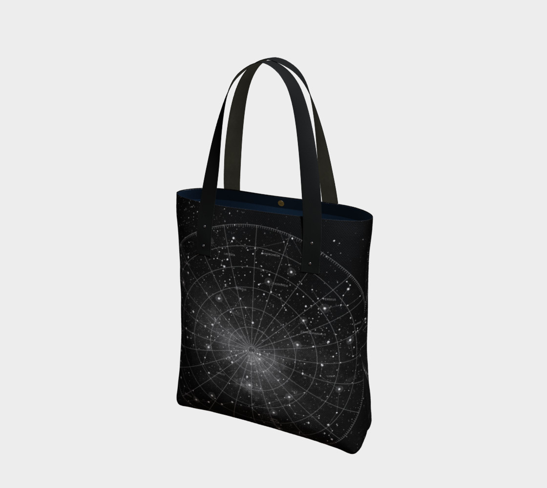 Constellation Star Chart Tote Bag thumbnail #2