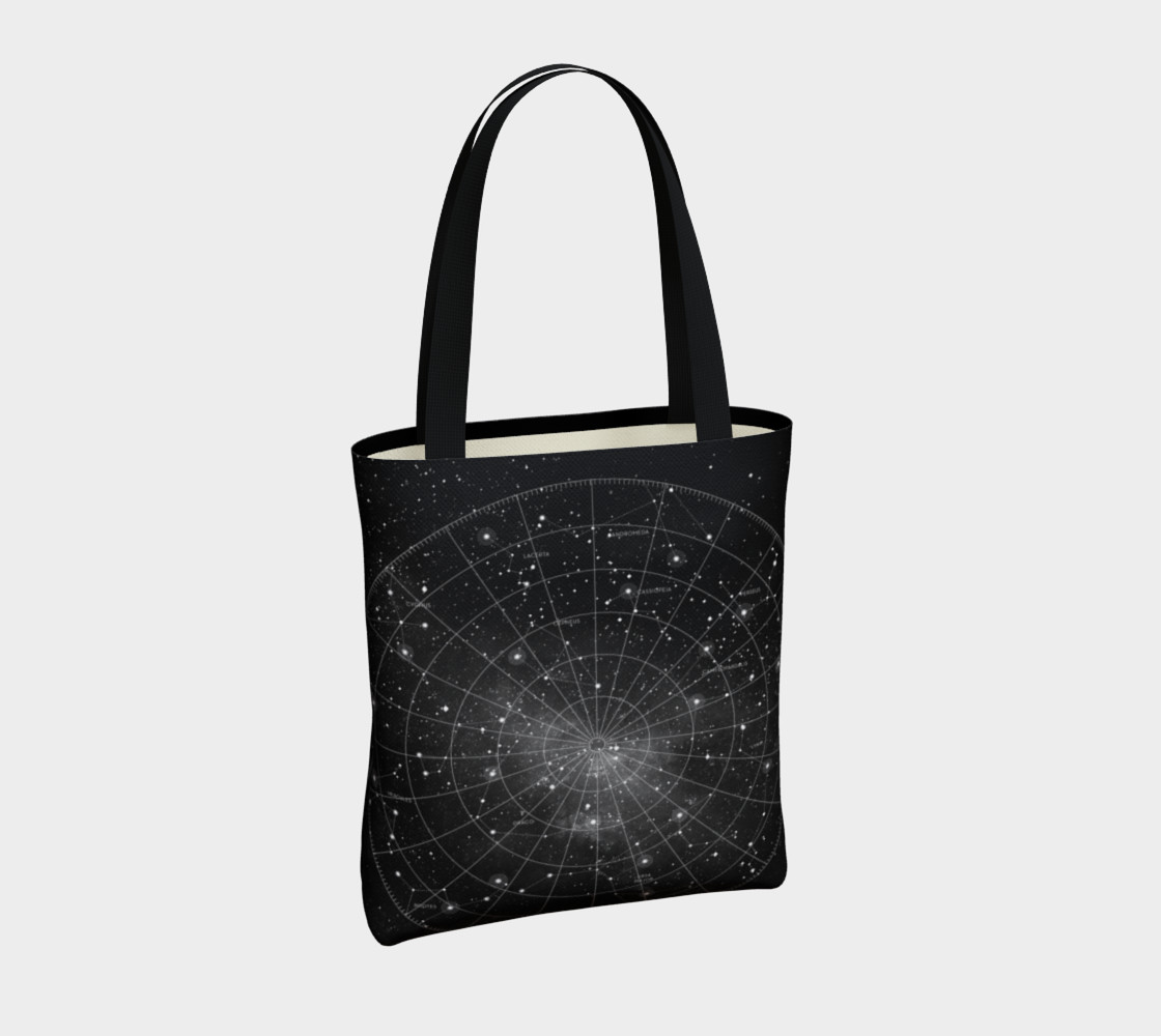 Constellation Star Chart Tote Bag thumbnail #5