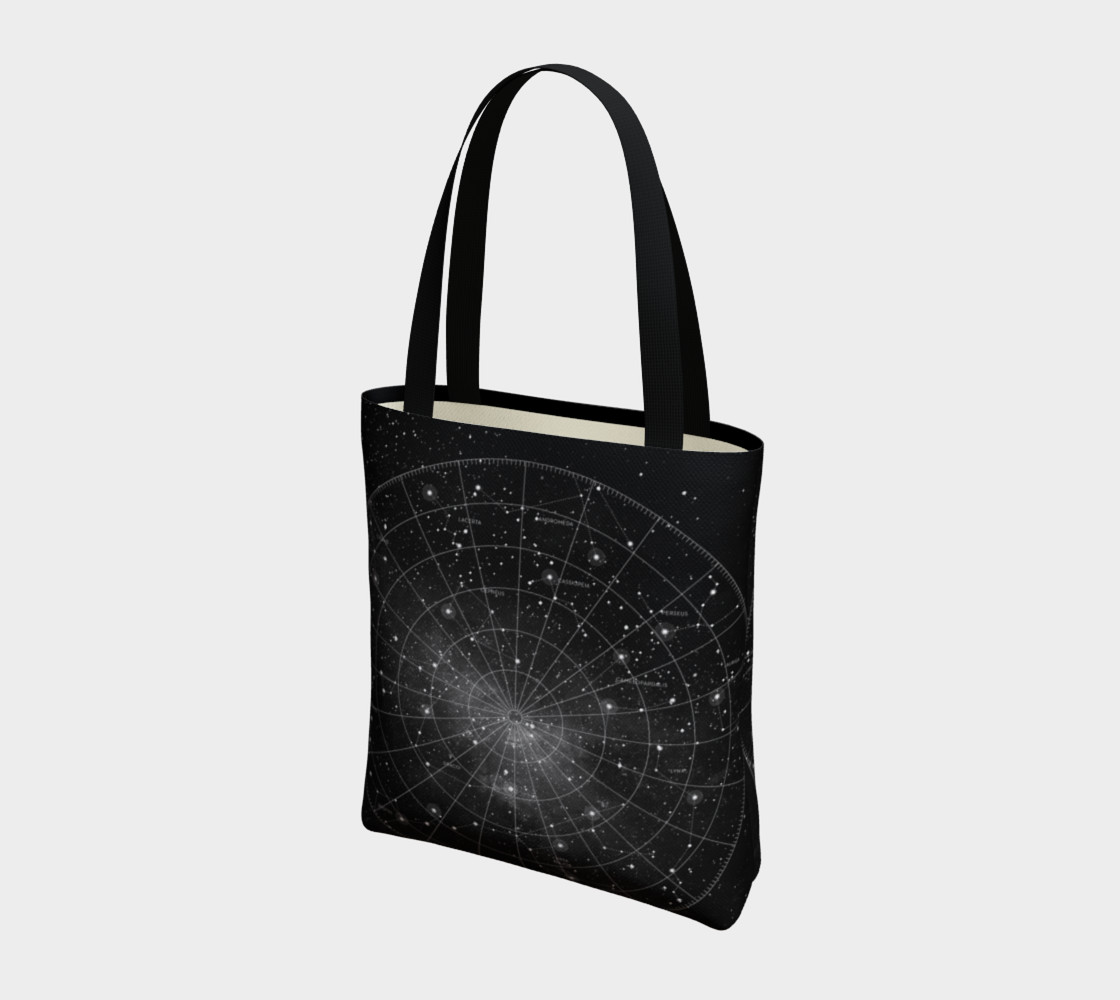Constellation Star Chart Tote Bag thumbnail #4