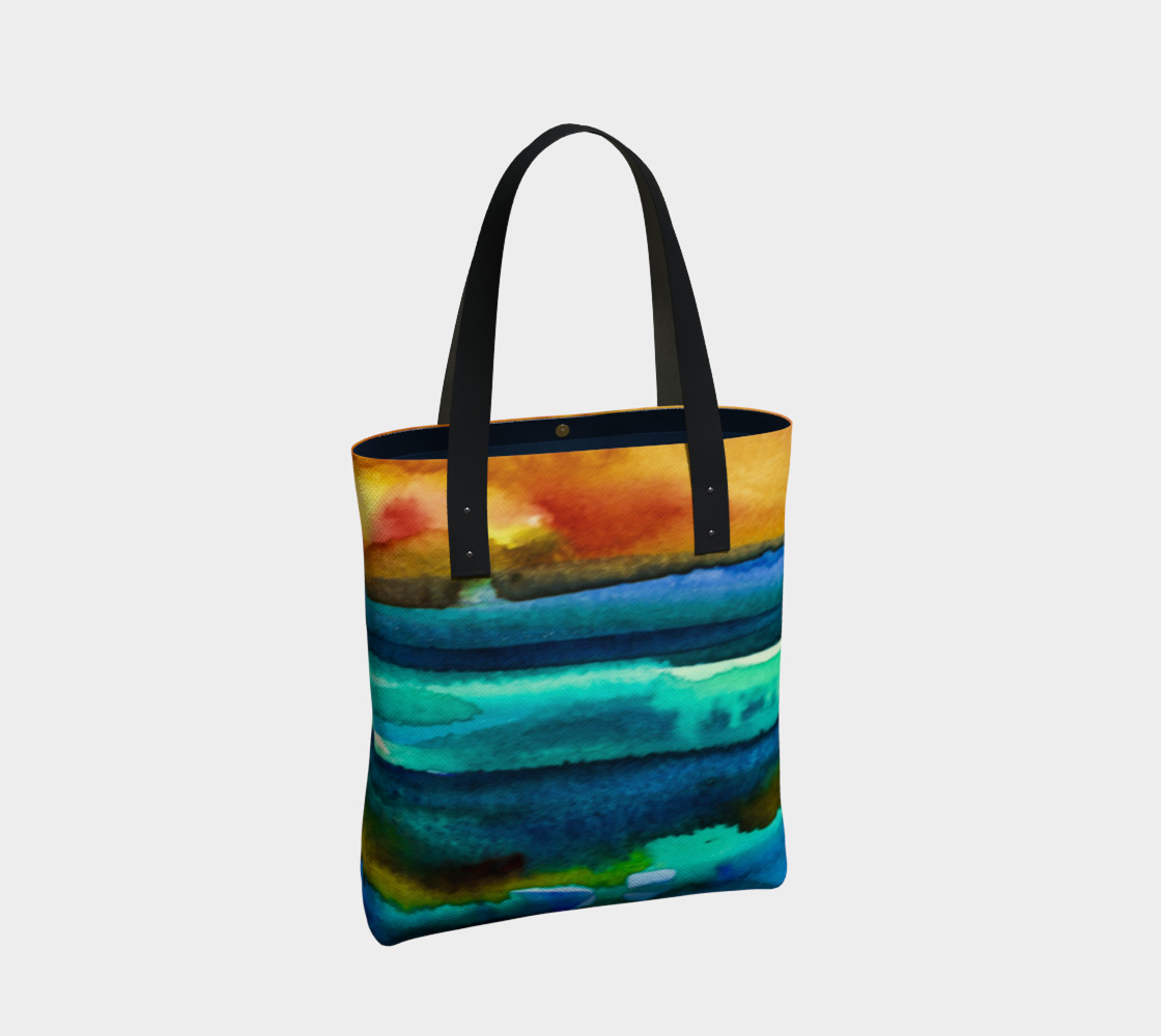 Hot Sky Sunset Tote Bag preview #2
