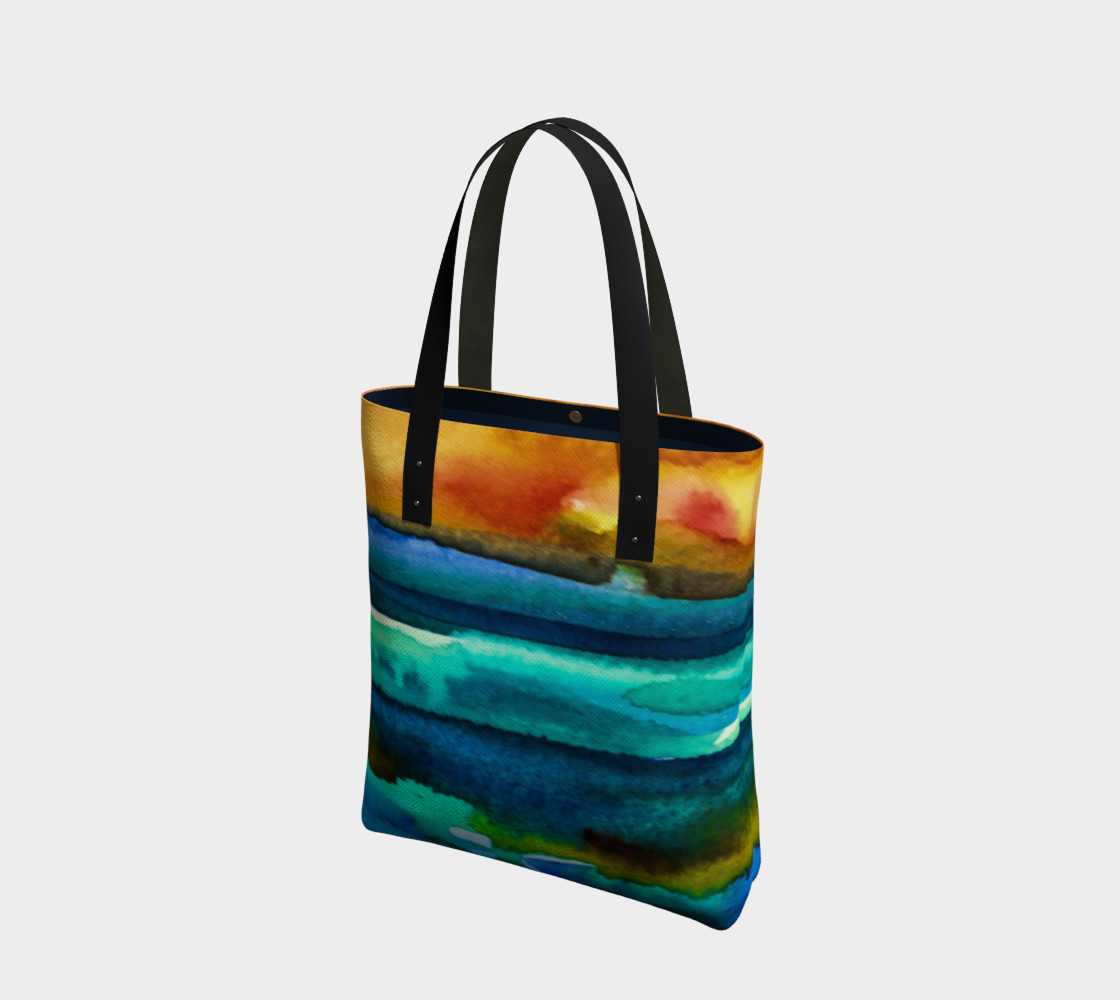 Hot Sky Sunset Tote Bag preview #1