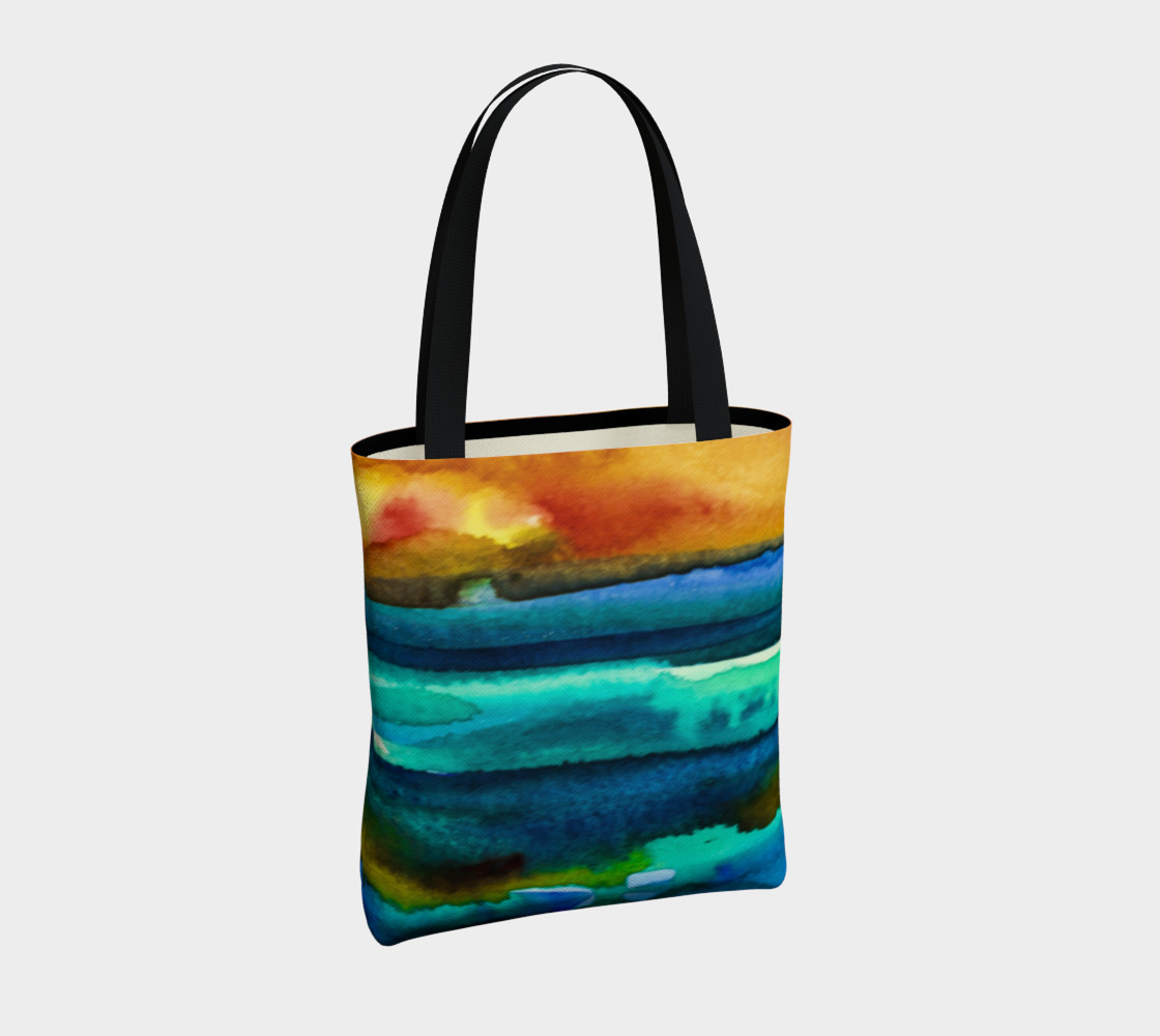 Hot Sky Sunset Tote Bag preview #4