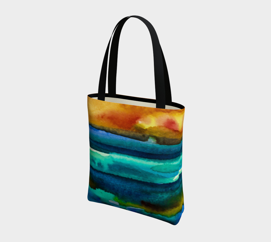 Hot Sky Sunset Tote Bag preview #3