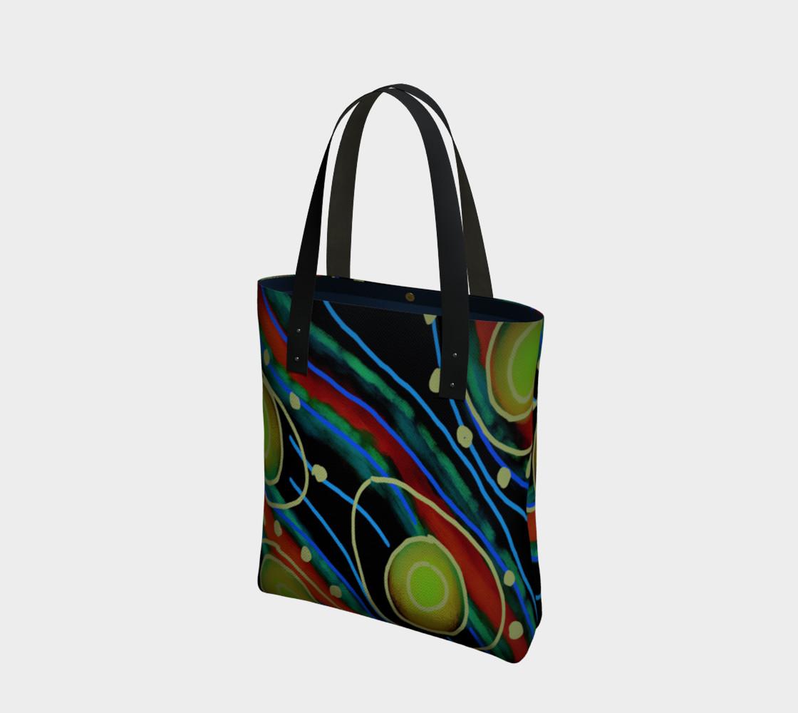 Aperçu de Original Abstract Art Shoulder Bag #1