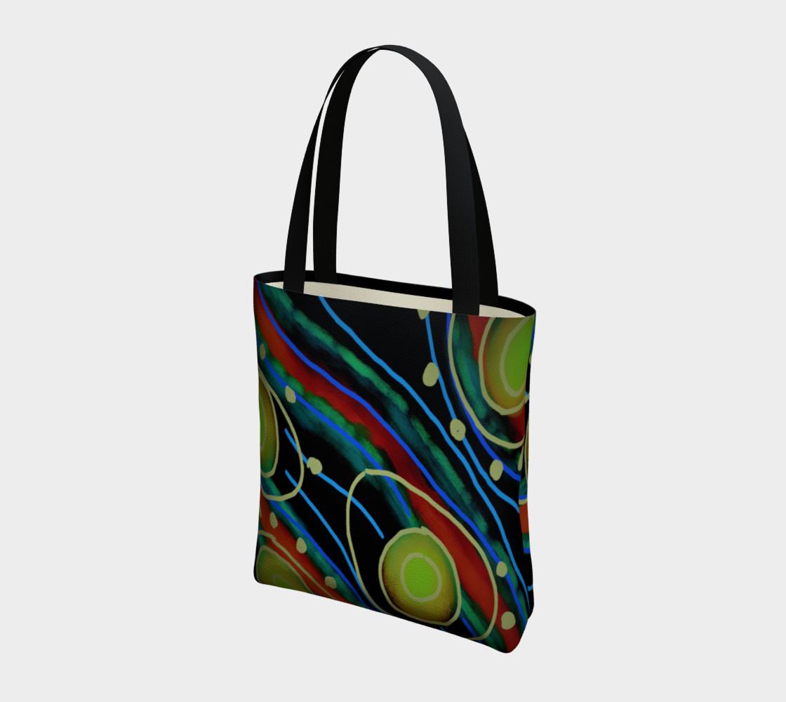 Aperçu de Original Abstract Art Shoulder Bag #3
