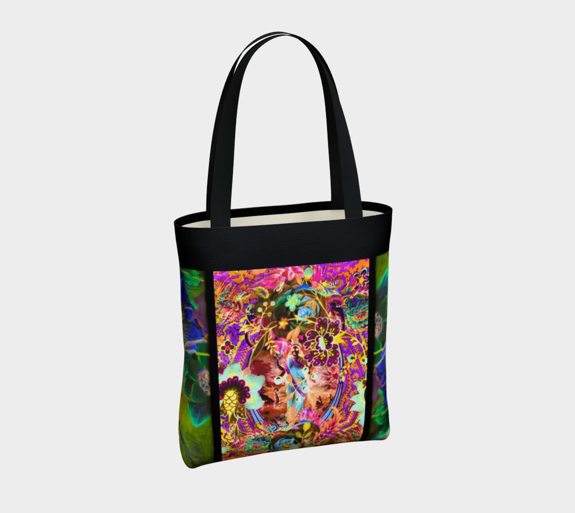 Bohemian Goddess Neon Tote Bag preview #4