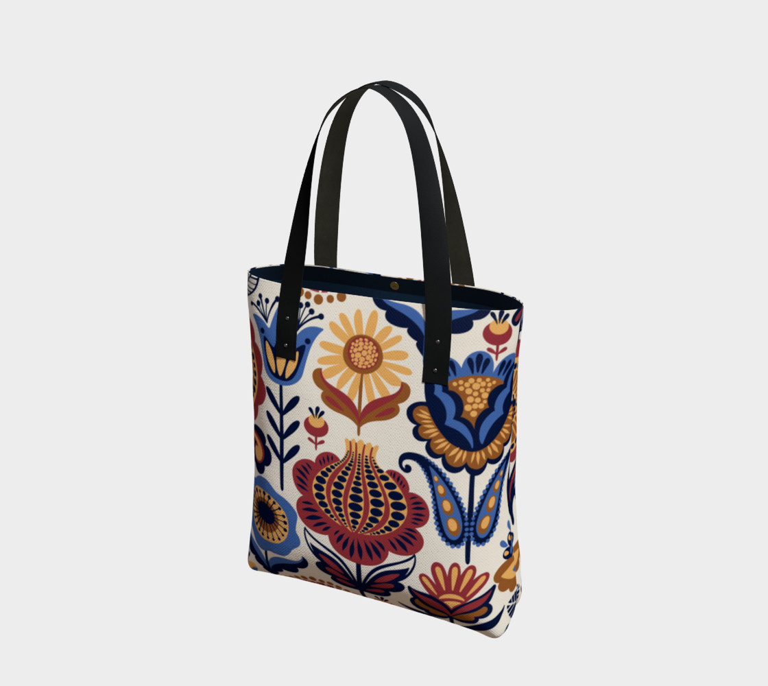 Vintage Folk Art Floral preview #1