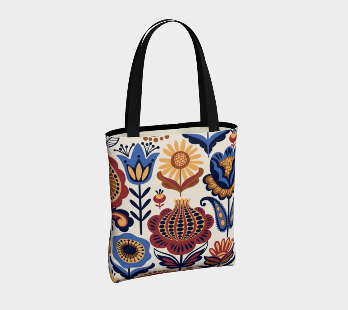 Vintage Folk Art Floral preview #4