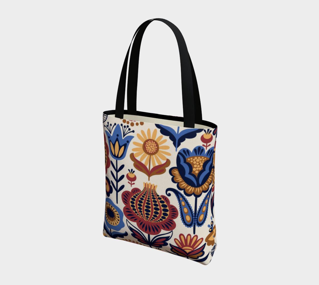Vintage Folk Art Floral preview #3