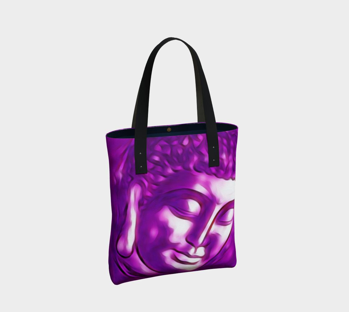 Aperçu de Pink Purple Buddha Art Portrait #2