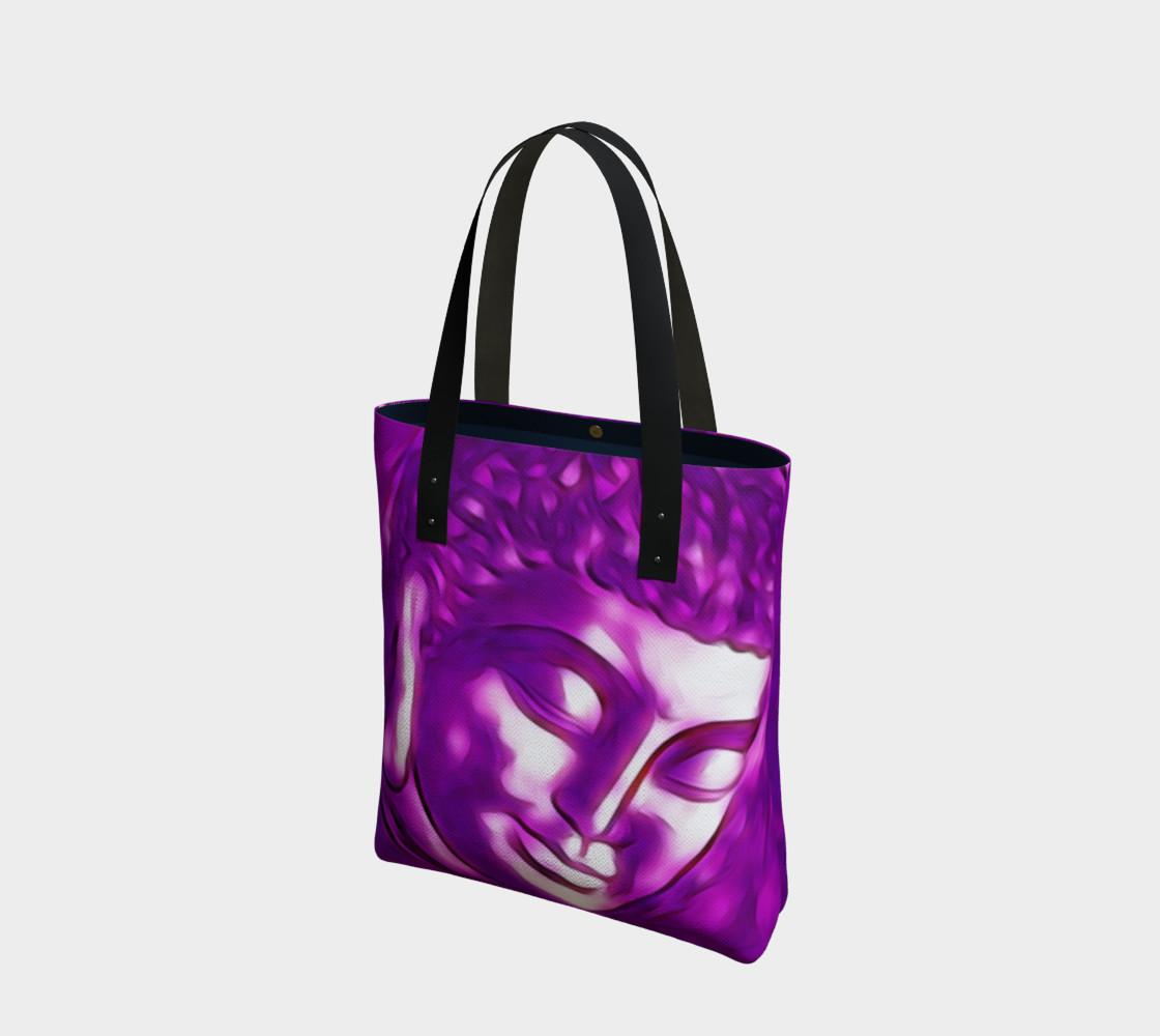 Aperçu de Pink Purple Buddha Art Portrait #1