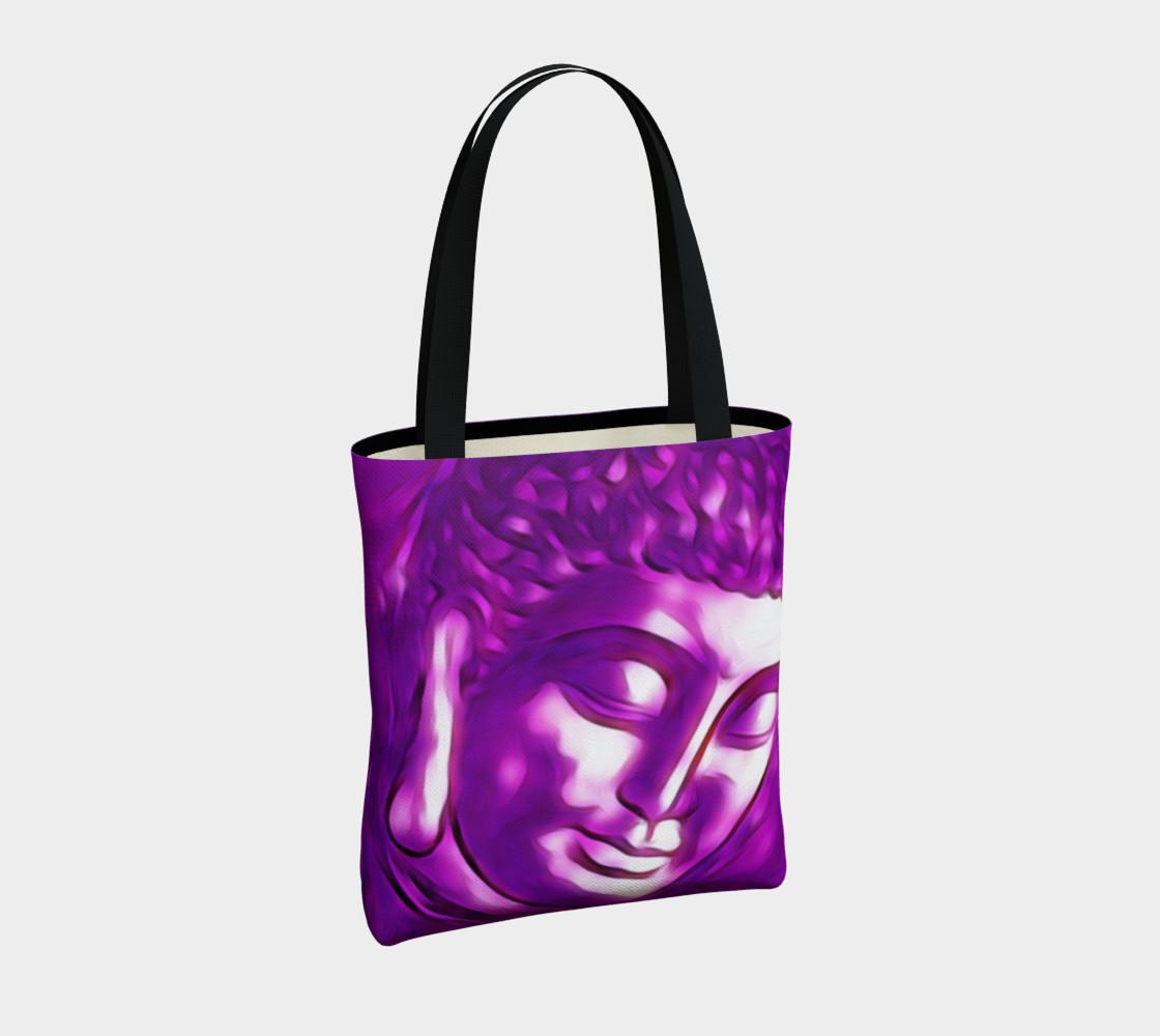 Aperçu de Pink Purple Buddha Art Portrait #4