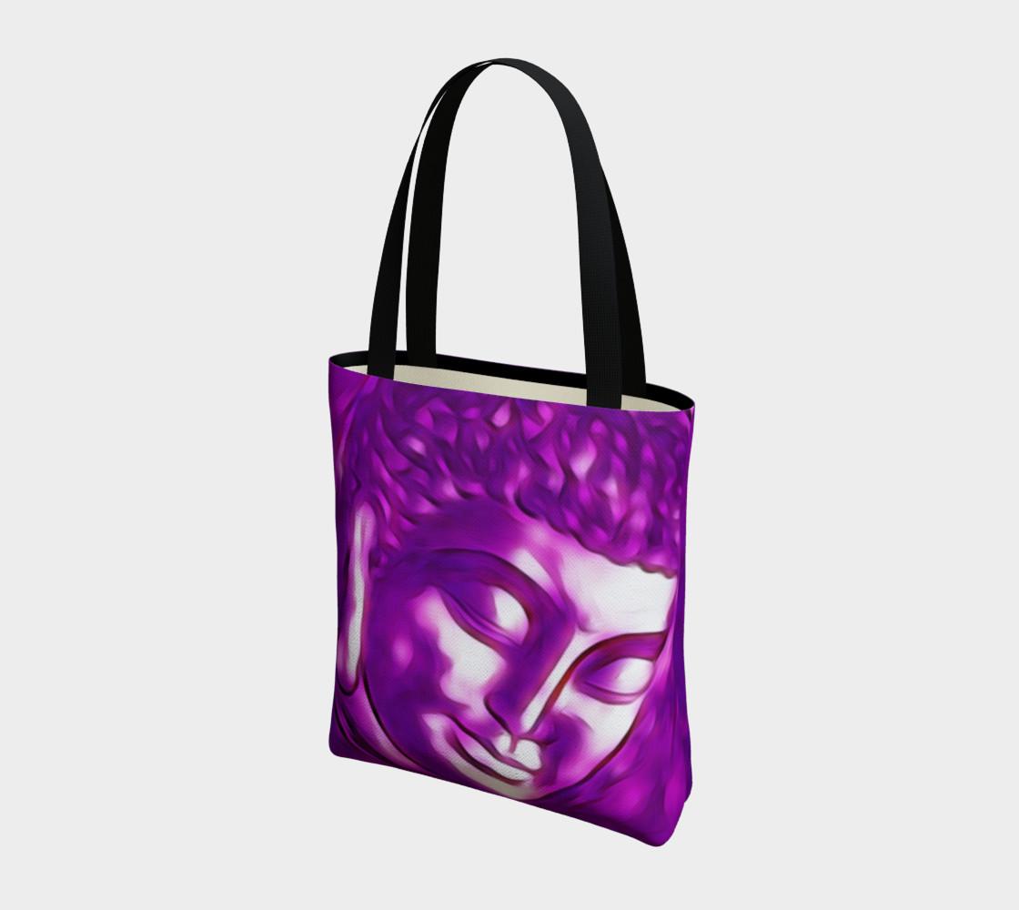 Aperçu de Pink Purple Buddha Art Portrait #3