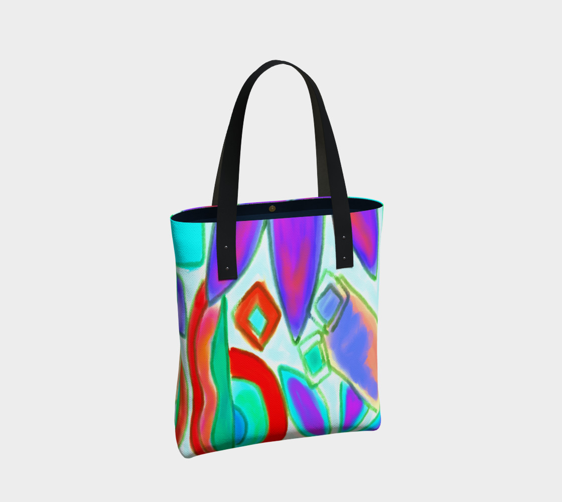 Summer 2 Abstract Art Shoulder Bag preview #2