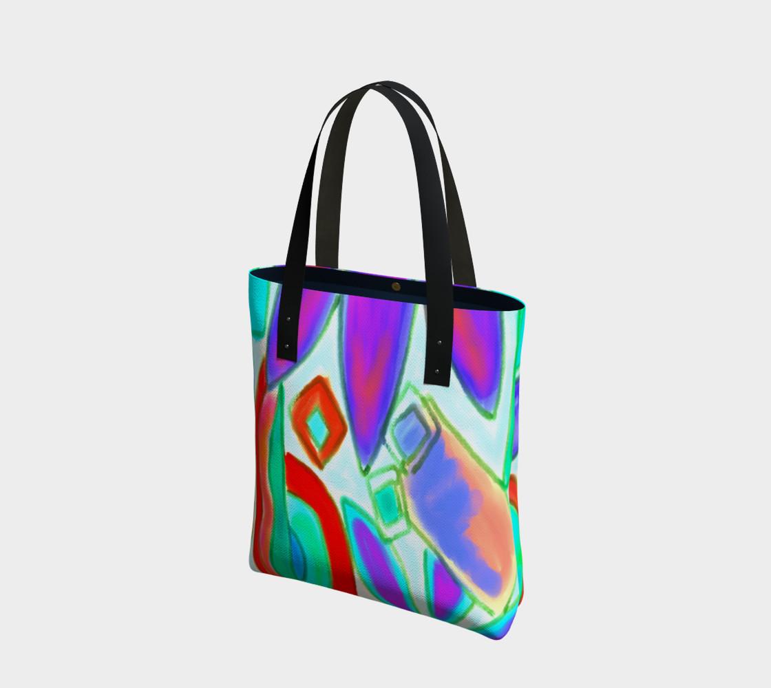 Summer 2 Abstract Art Shoulder Bag preview #1