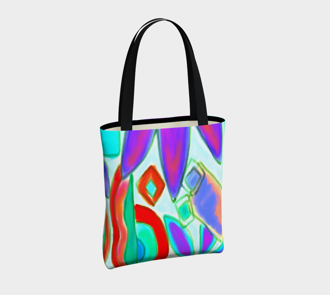 Summer 2 Abstract Art Shoulder Bag preview #4