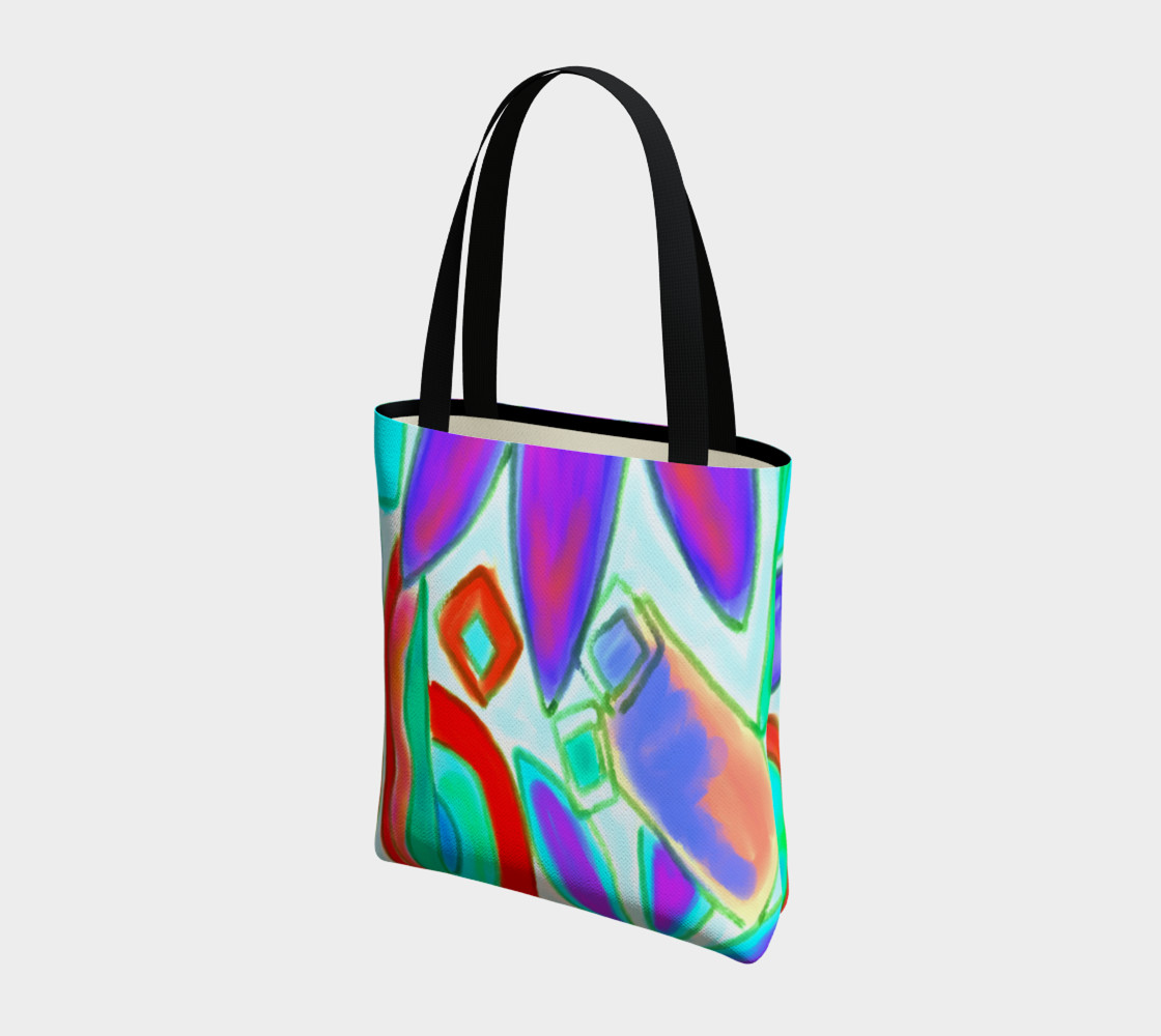 Summer 2 Abstract Art Shoulder Bag preview #3