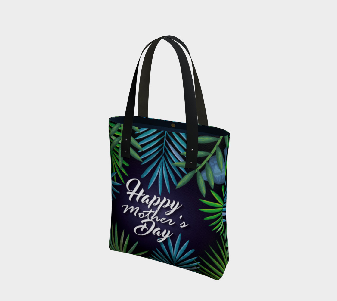 Aperçu 3D de Happy Mother's Day Tote