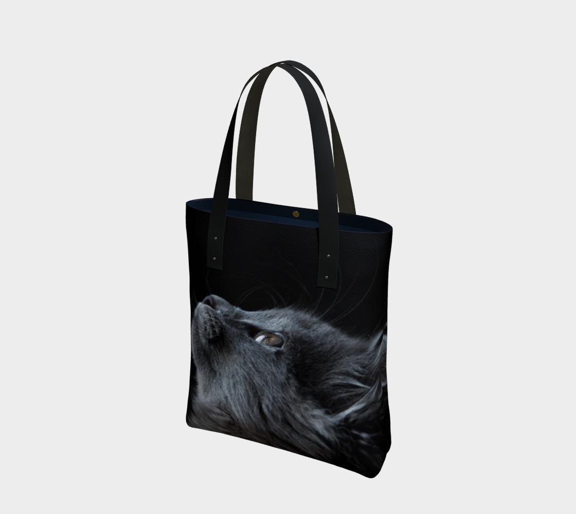 GABA Smoky Kitten Tote Bag preview #1