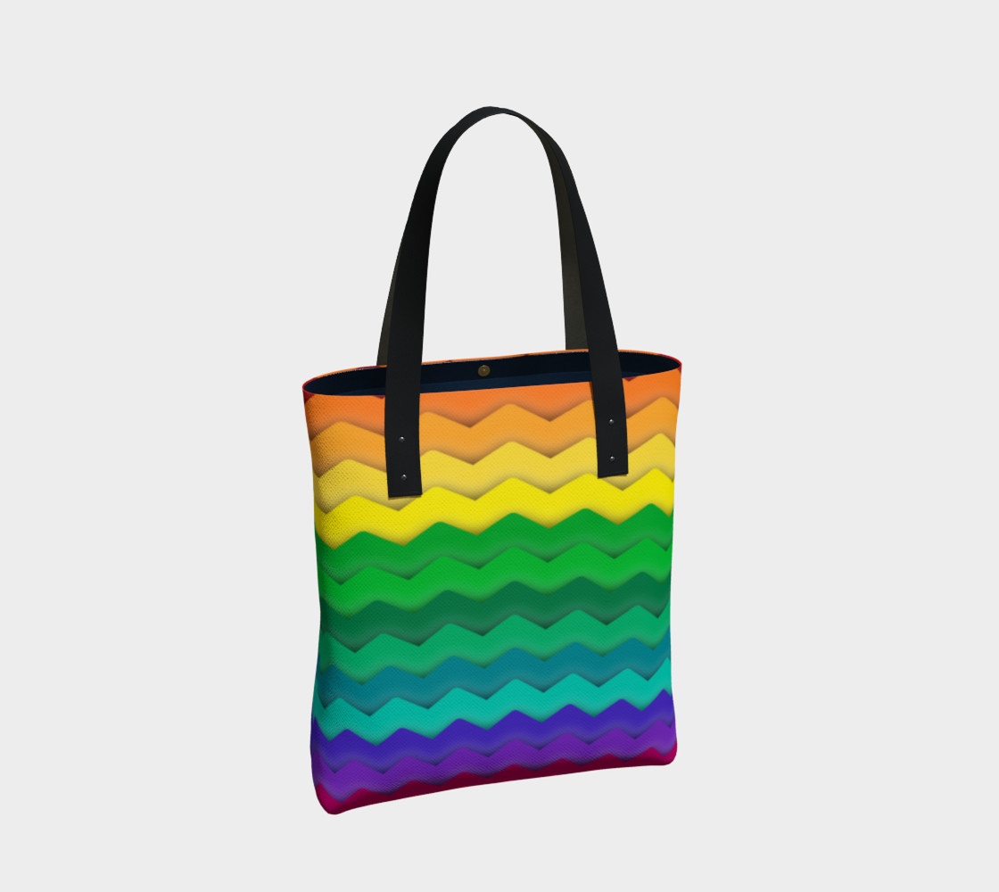 Cool Rainbow Gay Pride Waves preview #2