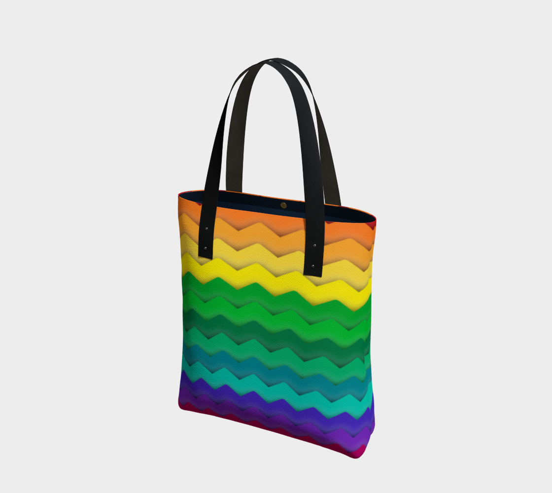 Cool Rainbow Gay Pride Waves preview #1