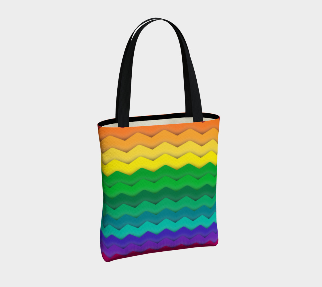 Cool Rainbow Gay Pride Waves preview #4