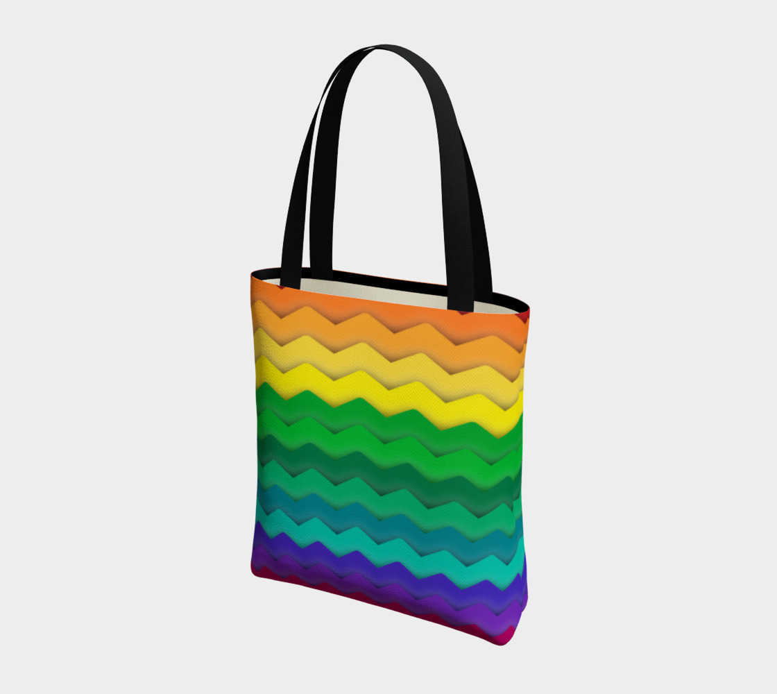 Cool Rainbow Gay Pride Waves preview #3