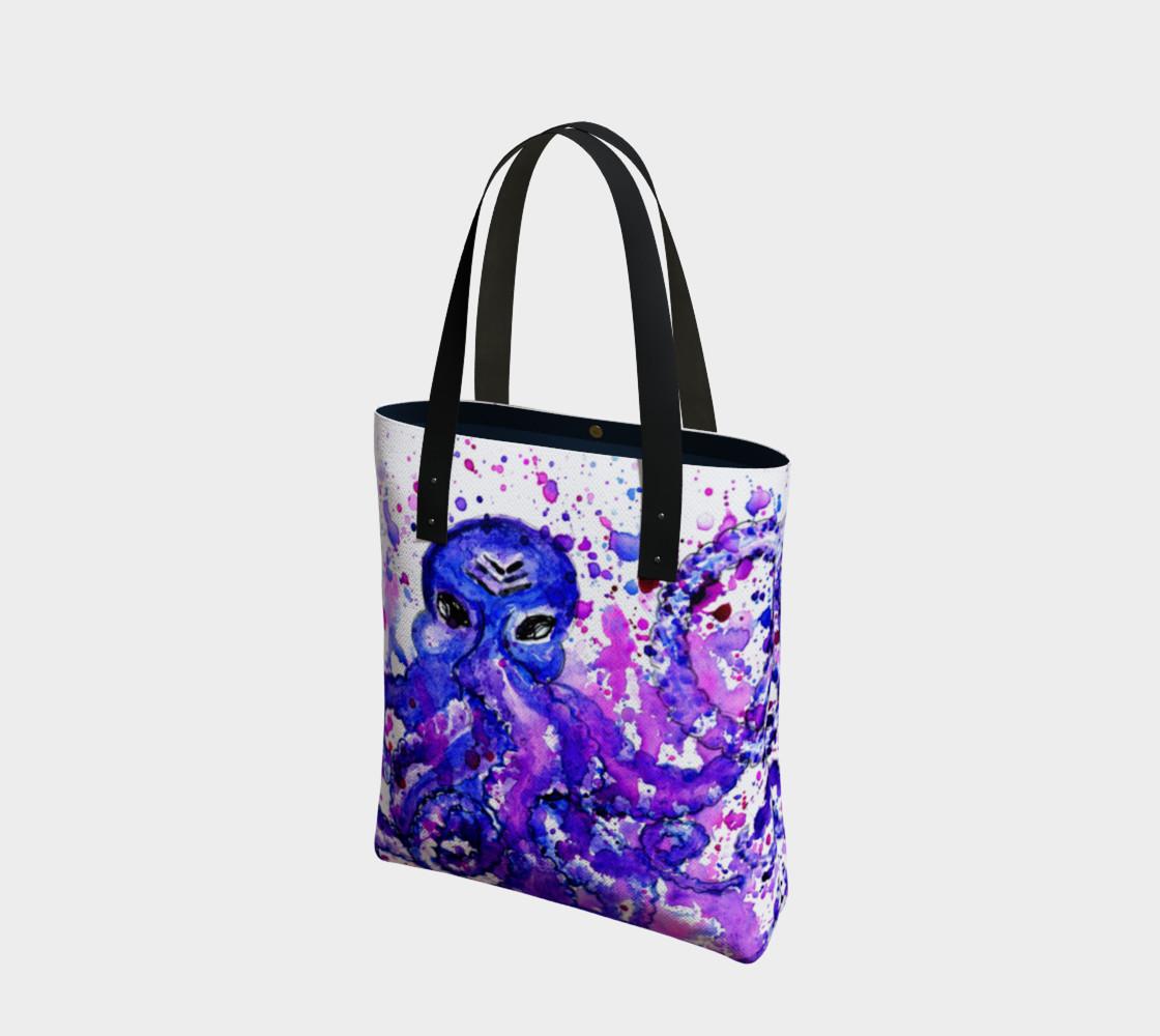 Violet octopus preview #1
