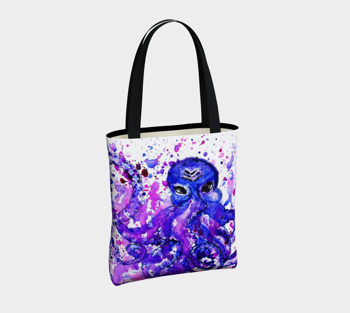 Violet octopus preview #4