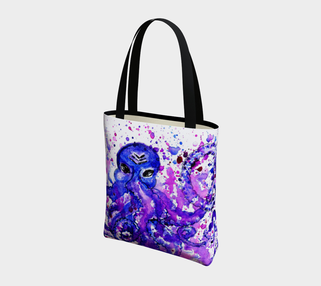 Violet octopus preview #3