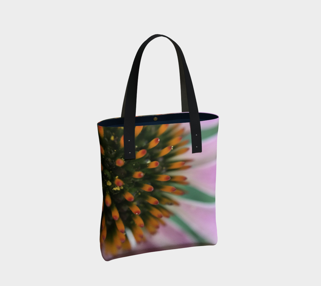 Pink Coneflower Tote preview #2