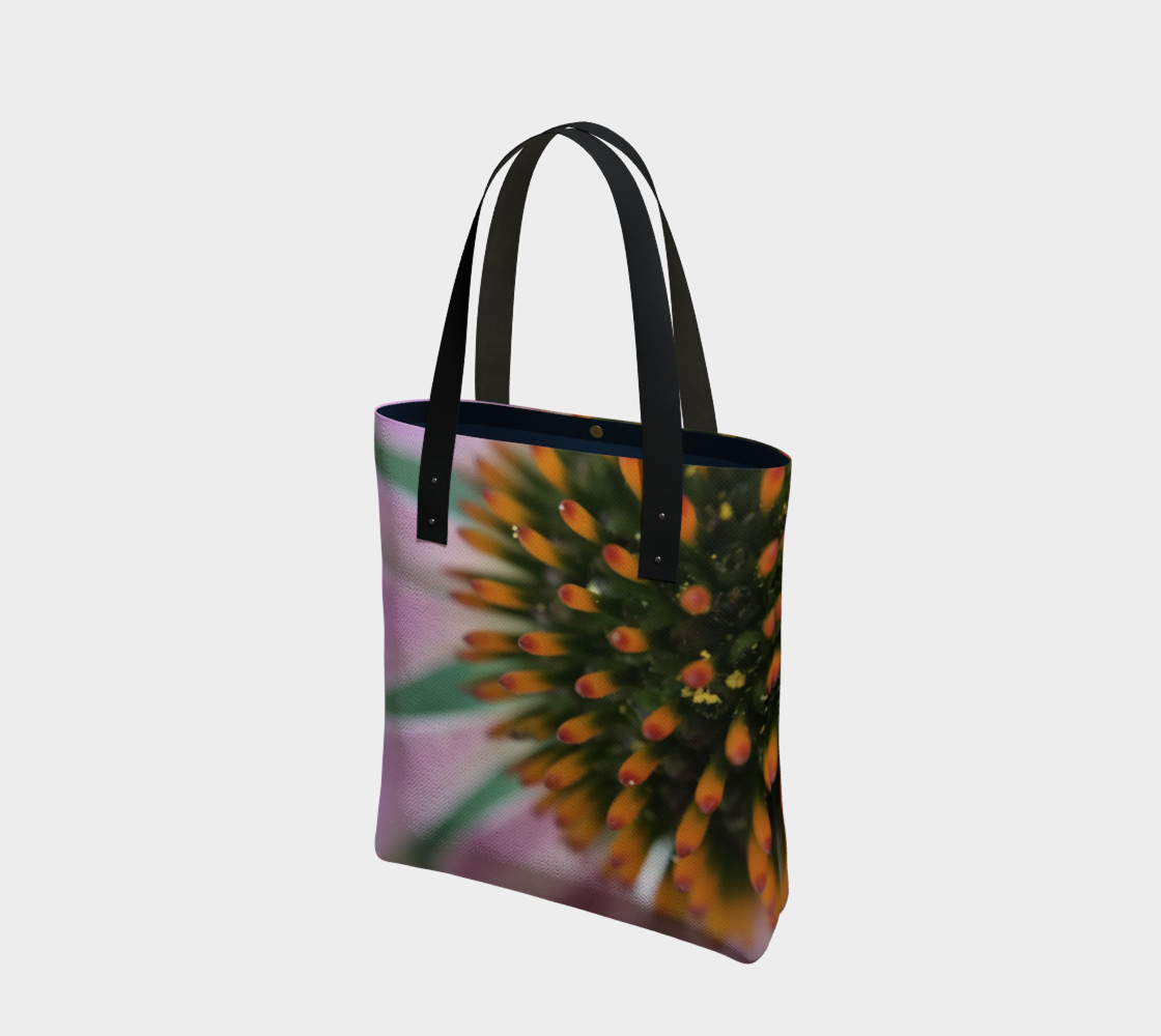 Pink Coneflower Tote preview #1