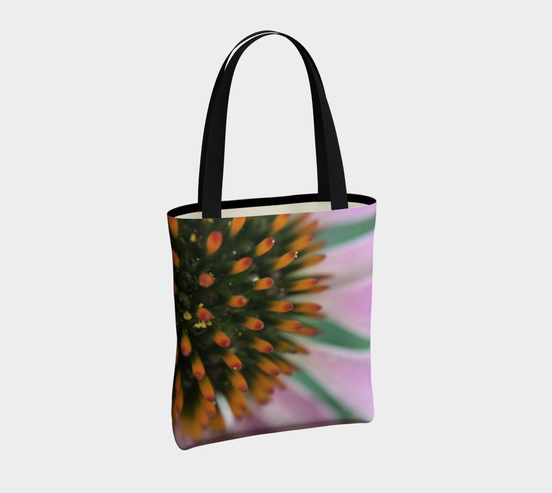 Pink Coneflower Tote preview #4