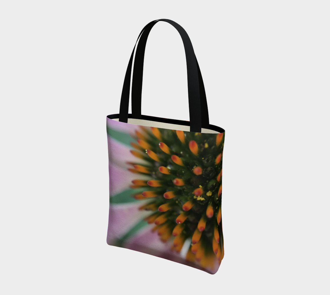 Pink Coneflower Tote preview #3