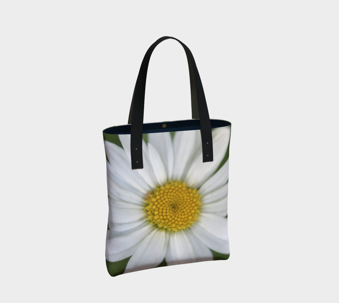 White Daisy Tote preview #2
