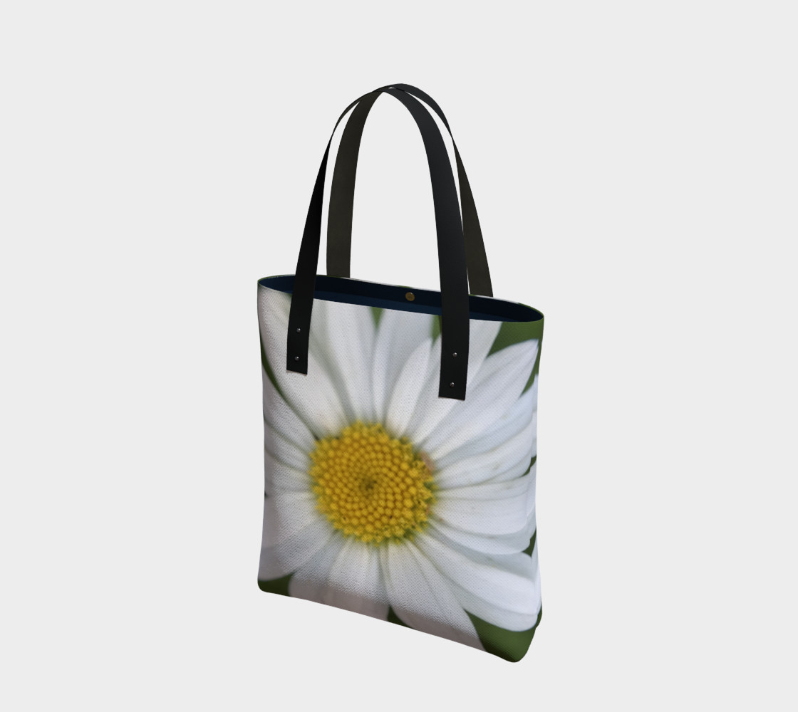 White Daisy Tote preview #1