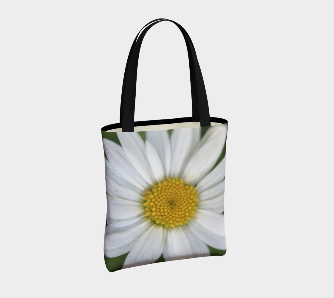 White Daisy Tote preview #4