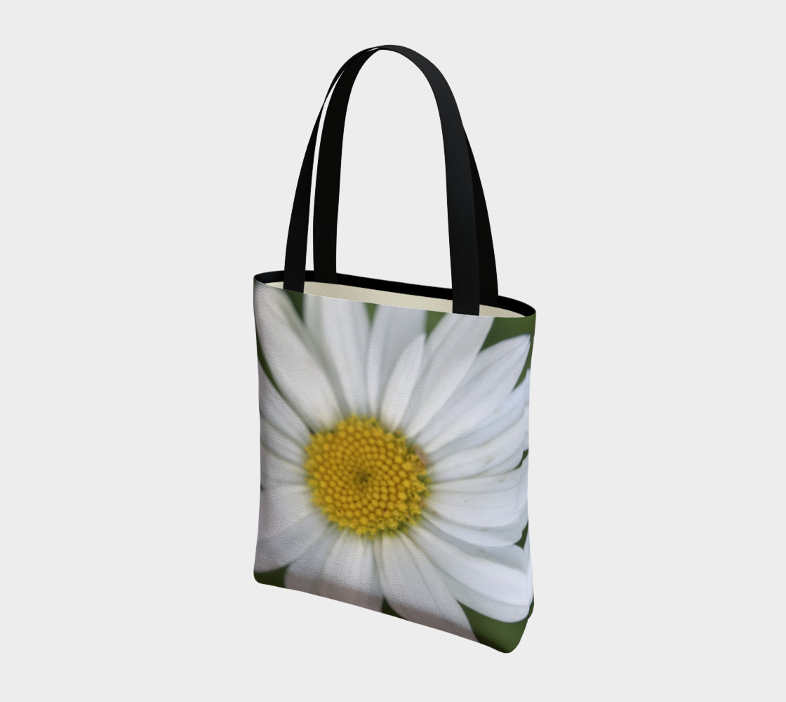 White Daisy Tote preview #3