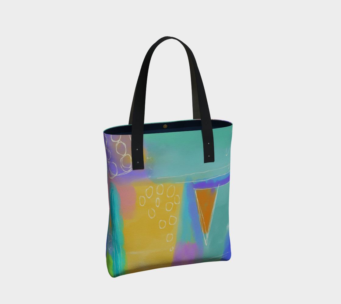 Aperçu de Original Abstract Art Shoulder Bag #2